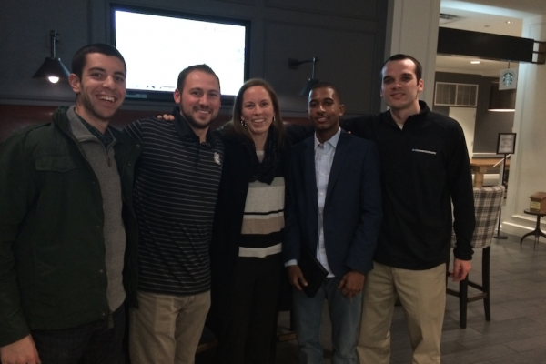 Sport Management Alumni & Faculty meeting in College Park,