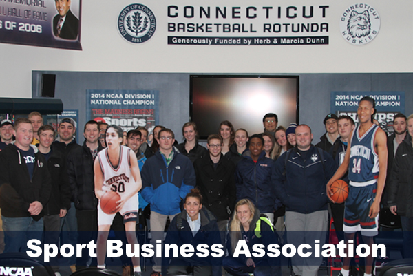 Sport Business Association photo at Husky Heritage Museum