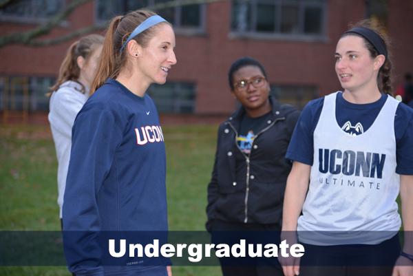 undergraduates during outdoor practice