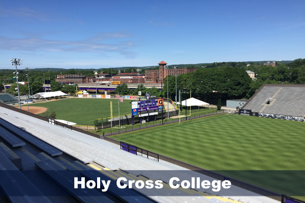 Holy Cross College stadiums