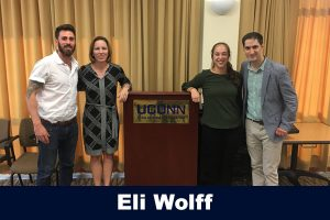 Charlie Macaulay, Jennie McGarry, Sofia Read and Eli Wolf from 9/2017 Speaker Series