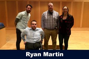 Ryan-Martin guest speaker at beyond the field series
