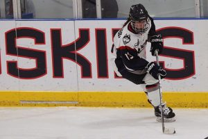 Reese Maccario, women's ice hockey player and current SPM student