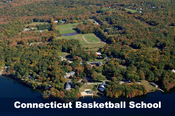 CT Baskebtall campus view