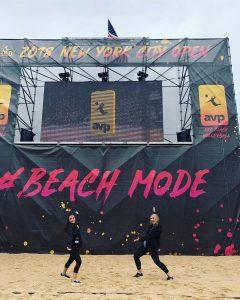 Beach Mode screen