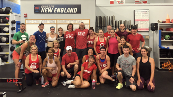 Crossfit of New England athletes