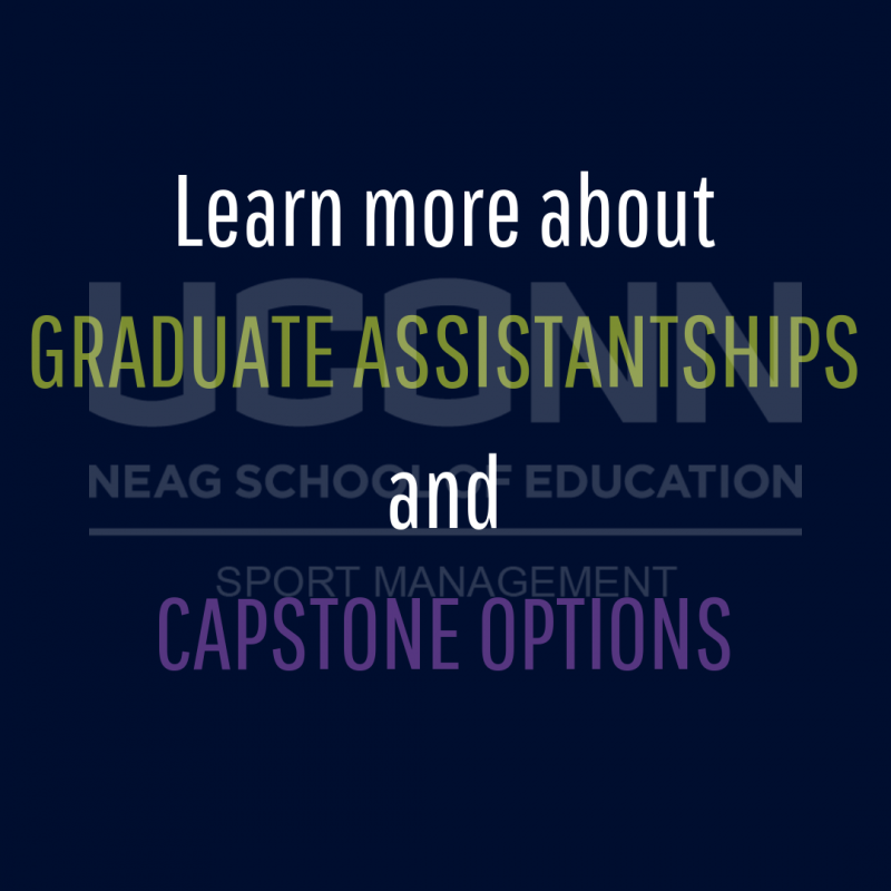Learn more about graduate assistantships and capstone options