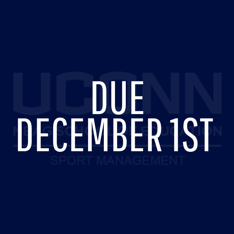 Due December 1st