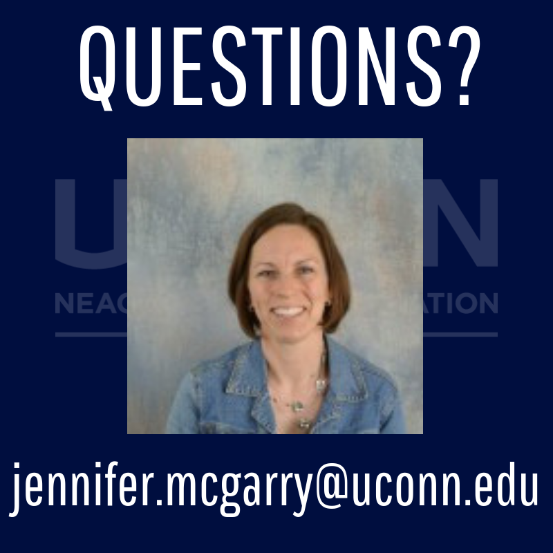 Questions, email Jennie McGarry